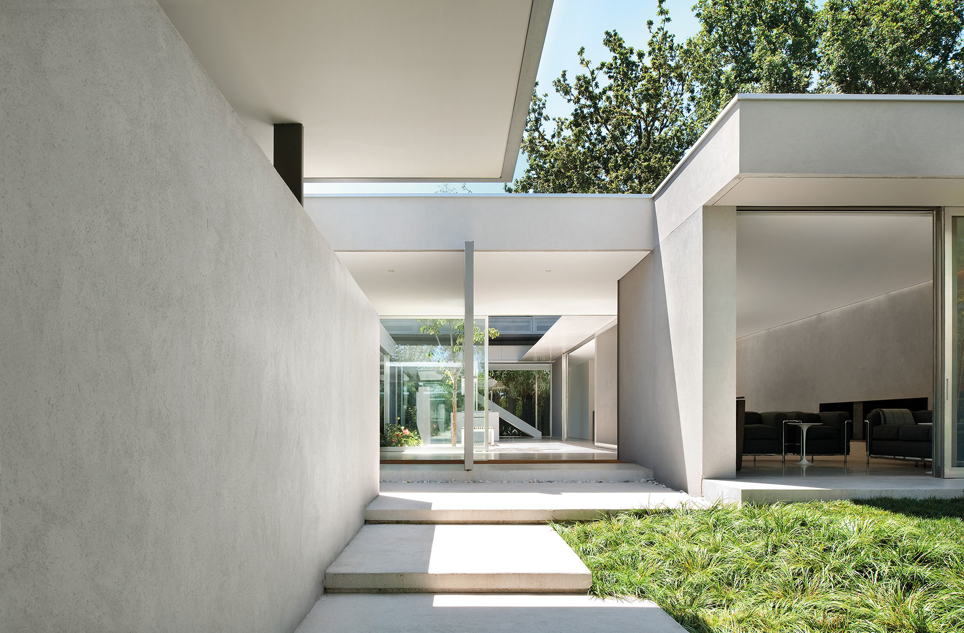 Courtyard House Residential Interior Design Carr